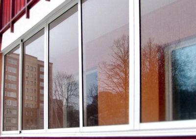 алюминиевая балконная рама цена