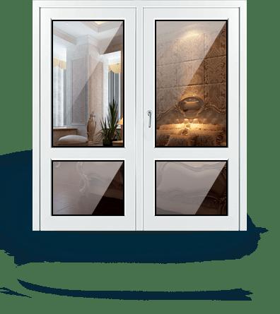пластиковая входная дверь в дом