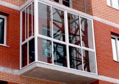 алюминиевые балконные рамы в минске цены