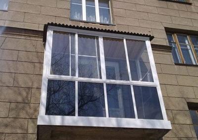 алюминиевые окна на балкон раздвижные
