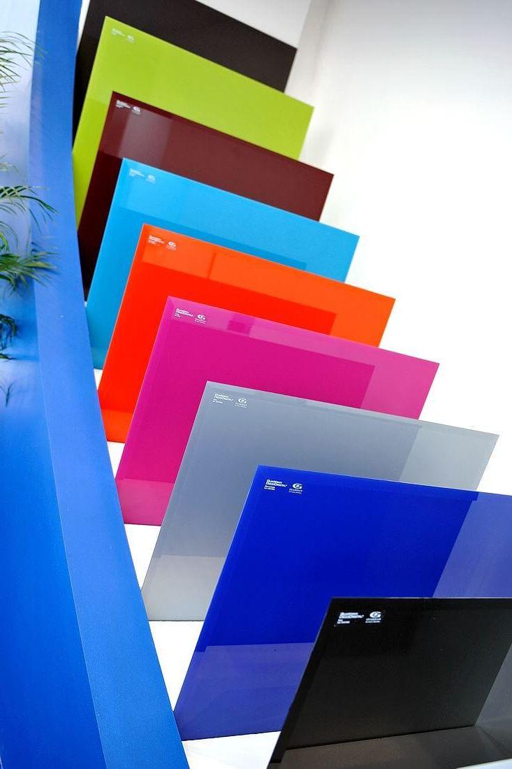 цветной стеклопакет